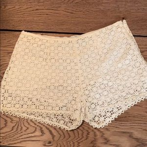 Joie Crochet Shorts